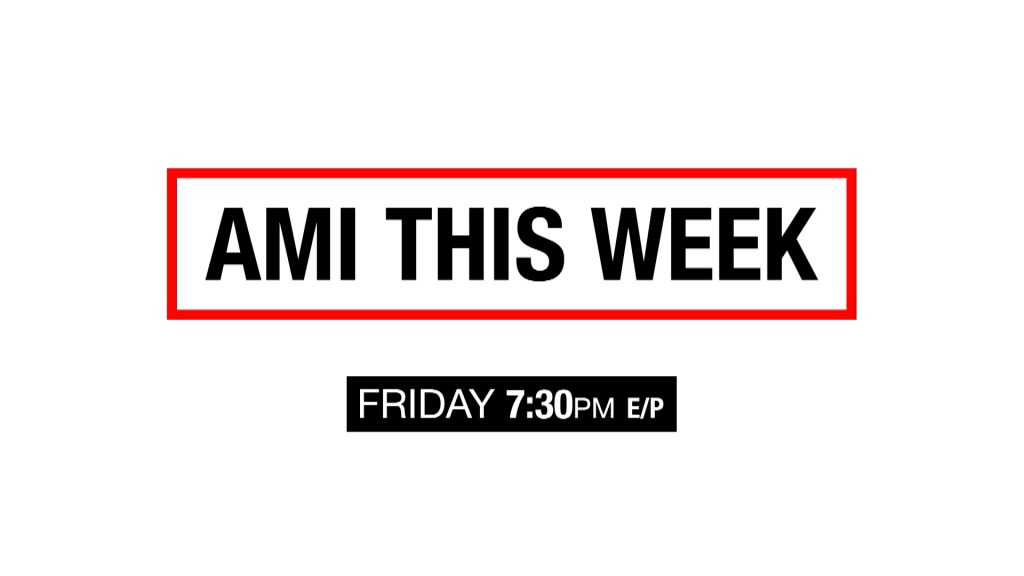 Image reads: AMI This Week Friday 7:30pm