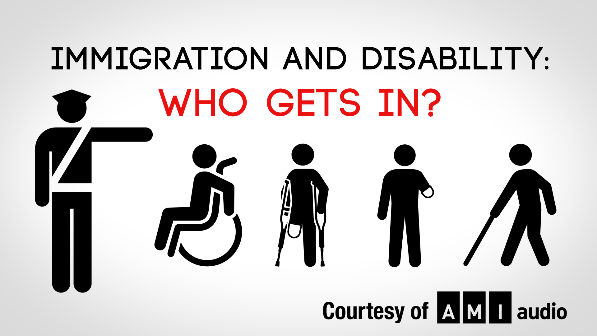 Text: Immigration and Disability: Who Gets In?