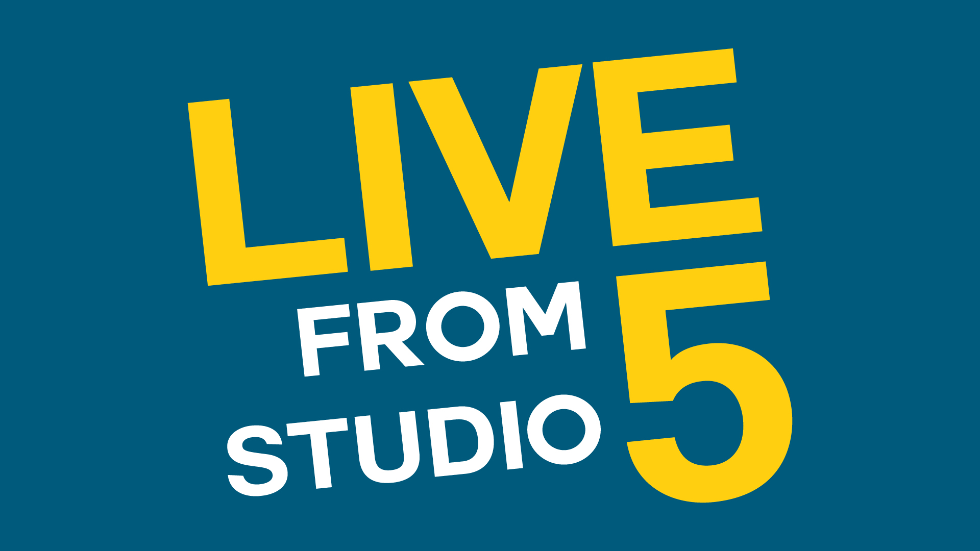 Logo for Live from Studio 5