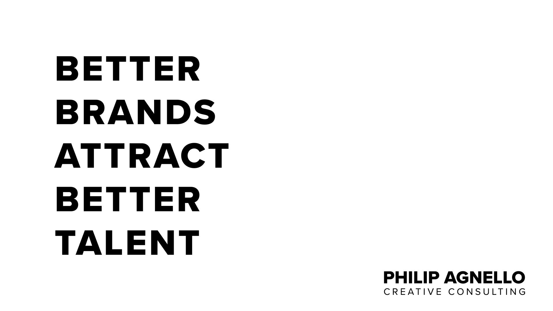 Title: Better Brands Attract Better Talent