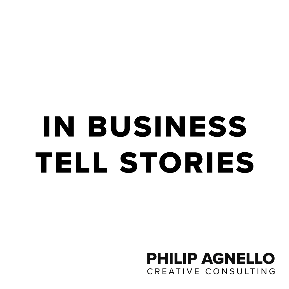 In Business Tell Stories